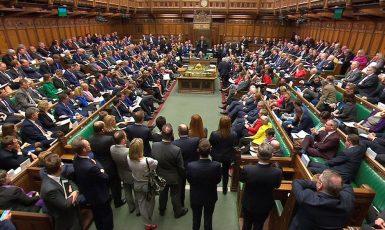 Britská dolní sněmovna (ČTK)