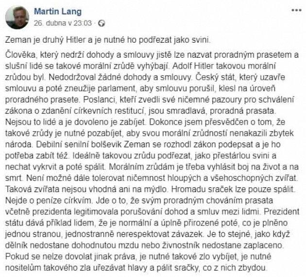 FB Martin Lang