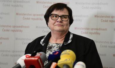Ministryně spravedlnosti Marie Benešová (ANO)  (ČTK)