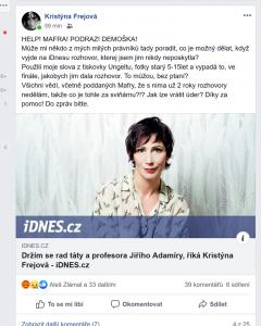 fb Kristýny Frejové
