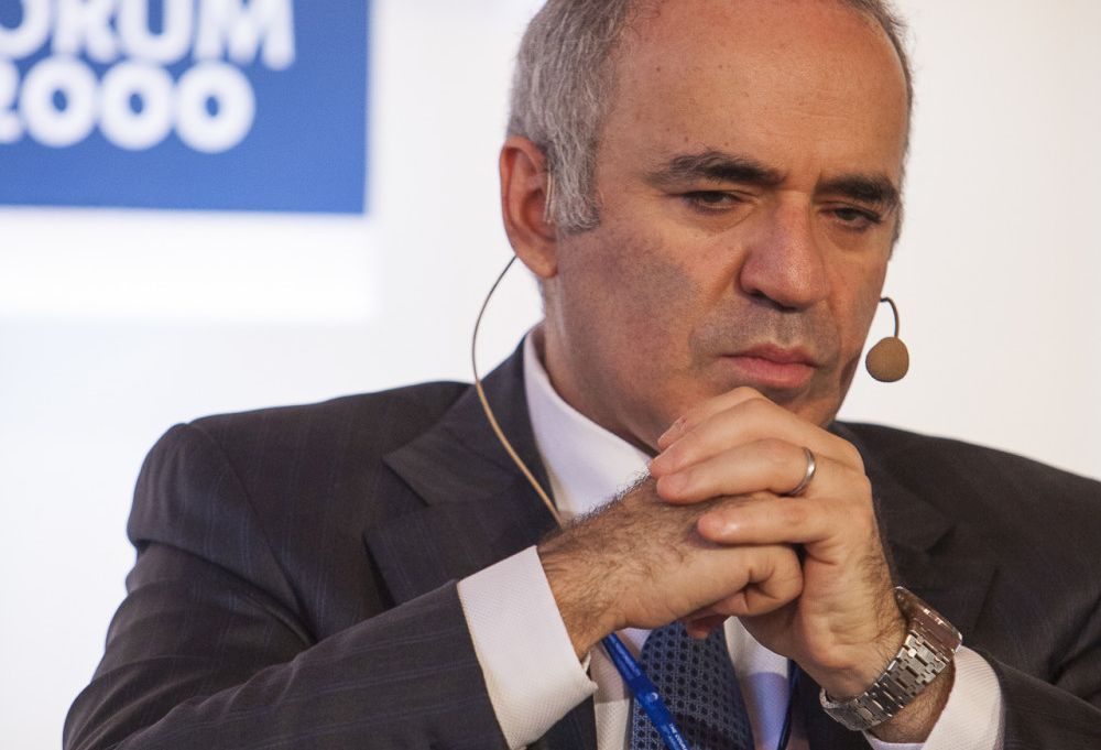 Garri Kasparov na Foru 2000 (Forum 2000)