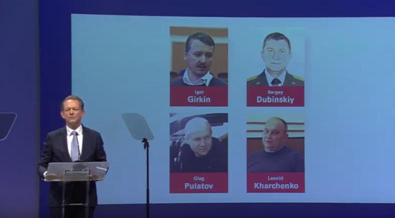 Šéf vyšetřovatelů Fred Westerbeke: Rusové s vyšetřováním nepomohli. Měli přiznat chybu  (Youtube screenshot TK JIT)