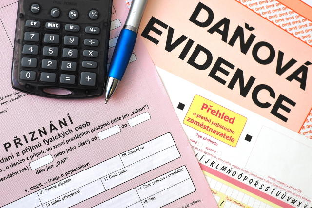 Daňové dokumenty – ilustrační foto (ČTK)