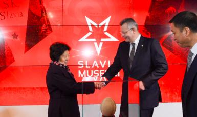 Prezident Smíšené česko čínské komory vzájemné spolupráce Jaroslav Tvrdík (Twitter @JaroslavTvrdik)
