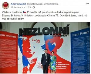 Facebook Andreje Babiše.