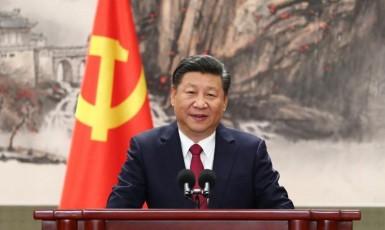 Čínský prezident Si Ťin-pching (repro: xinhuanet.com)