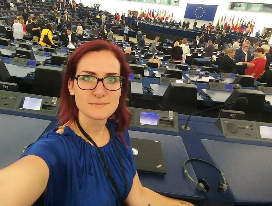 Poslankyně Evropského parlamentu Markéta Gregorová (Piráti) (FB Markéta Gregorová)