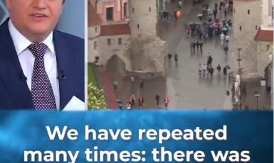 Žádná invaze nebyla, říká ruská televize  o invazi do Estonska (Twitter, Channel 5)