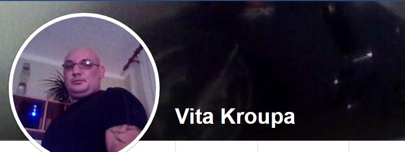 Facebookový účet Vítězslava Kroupy