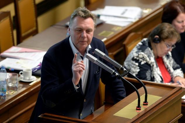 Poslanec Pavel Juříček (ANO) na schůzi Poslanecké sněmovny (ČTK)