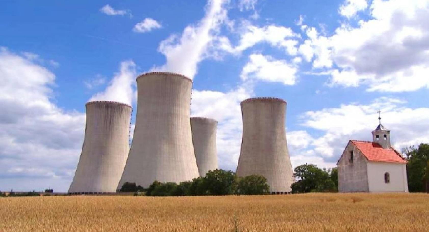 Jaderná elektrárna Dukovany (ČTK)
