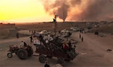 Invaze Turků do Sýrie zasáhla i civilní obyvatelstvo. (youtube)