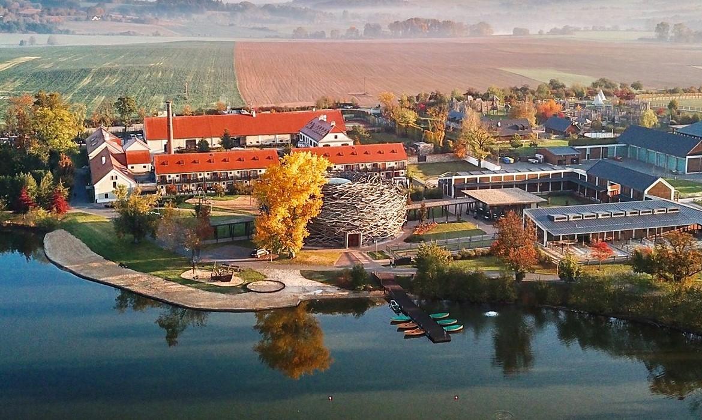 Areál Farmy Čapí hnízdo v Olbramovicích (Facebook/Čapí hnízdo)