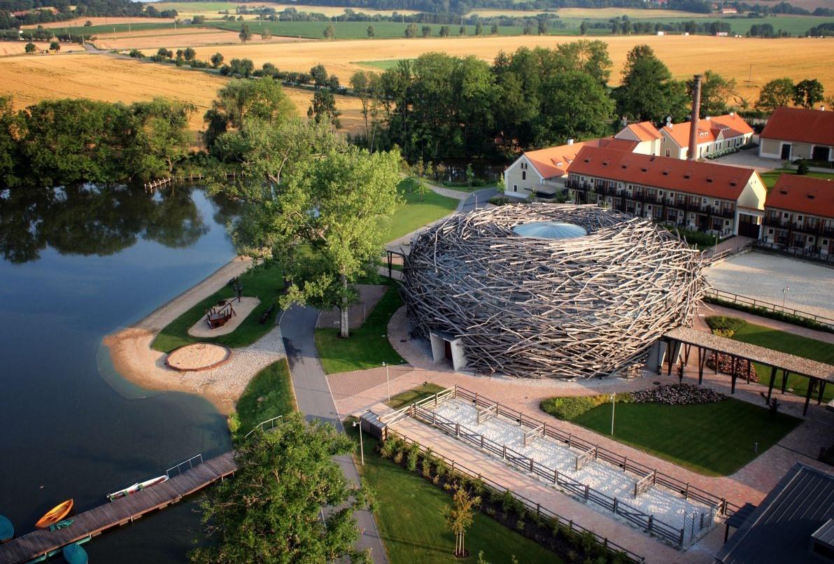 Areál Farmy Čapí hnízdo v Olbramovicích (FB)