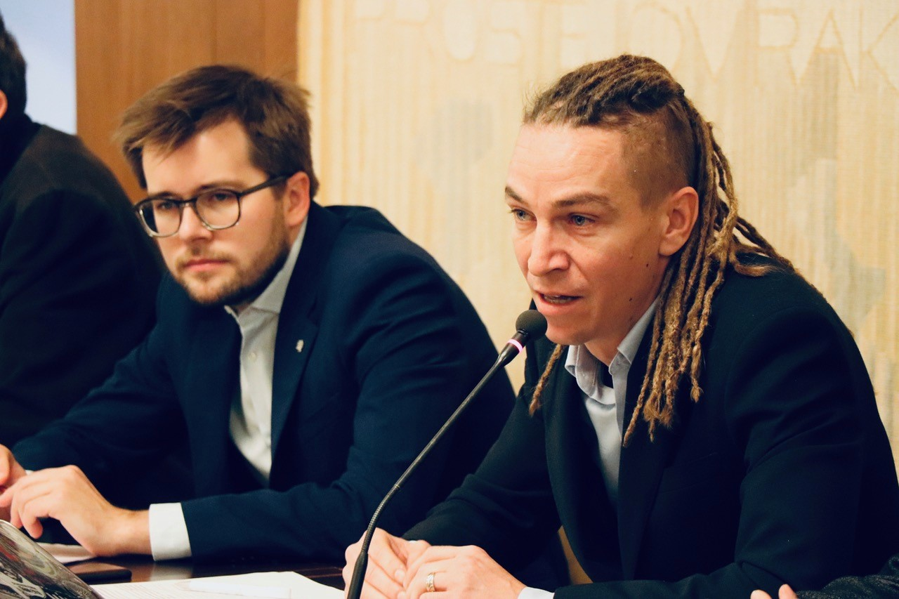 Jakub Michálek a Ivan Bartoš, Piráti (FB Česká pirátská strana)