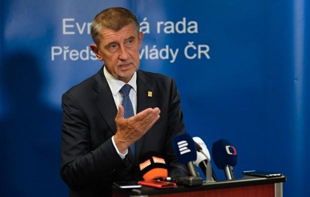 Český premiér Andrej Babiš (ANO) v Bruselu  (ČTK)