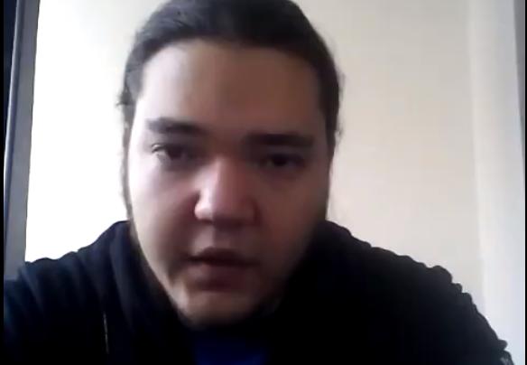 Rusgarda mi podstrčila drogy, říká na přiloženém videu  Dmitrij Fjodorov z Omsku. Týden nato byl mrtev. (VKontakte, Dmitrij Fjodorov)