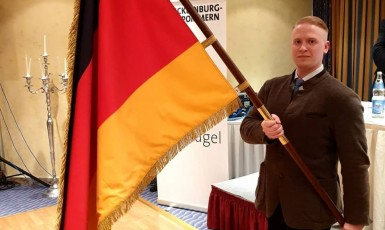 Zemský poslanec německé obdoby okamurovců, AfD, Nikolaus Kramer   (FB Nikolause Kramera)