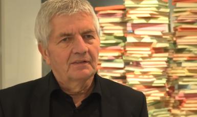 Šéf úřadu pro dokumentaci činnosti Stasi Roland Jahn (Twitter Roland Jahn)