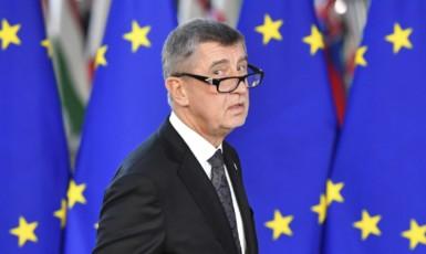 Premiér Andrej Babiš kritizuje EU. (ČTK)