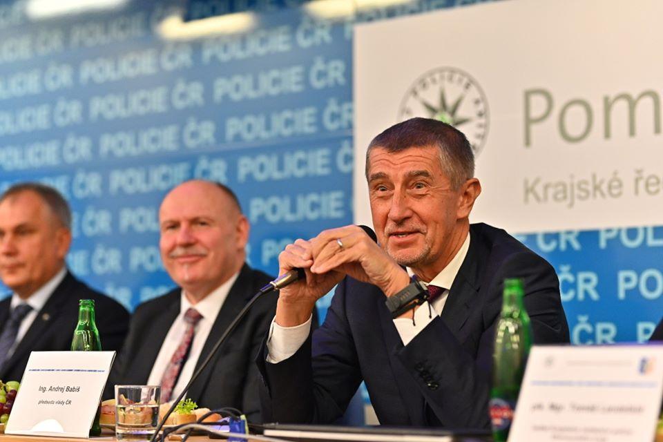 FB Krajského ředitelství policie Olomouckého kraje