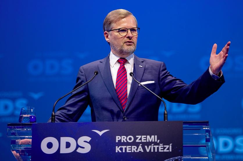 Petr Fiala na kongresu ODS (ODS)