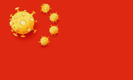 Čínský režim při zatajování původu pandemie narazil i na motiv spojující čínskou vlajku s vyobrazením koronaviru (Niels Bo Bojesen, Jyllands-Posten)