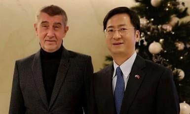 FB čínská ambasáda