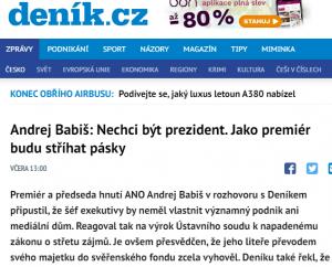 Printscreen Deník.cz