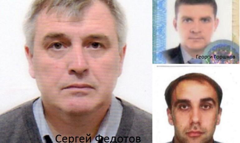 Trojice ruských travičů. Jejich krycí jména z fotek brzy nahradí Bellingcat skutečnými  (Bellingcat)