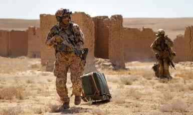 Personel Recovery Team Bundeswehru v Afghánistánu, ilustrační snímek (Bundeswehr)