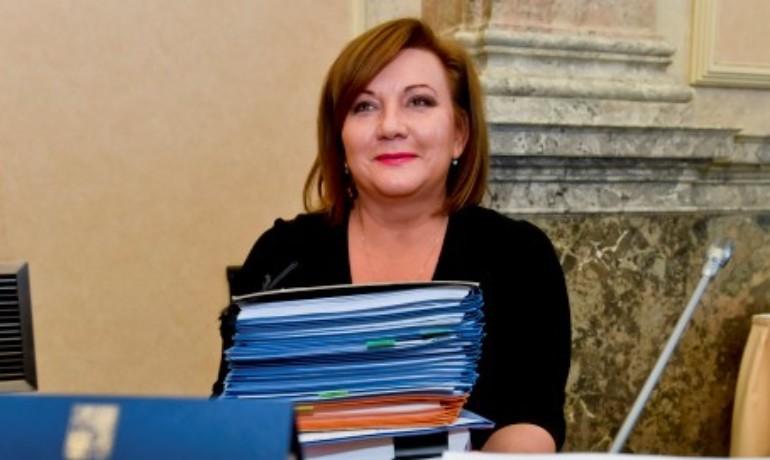 Ministryně financí Alena Schillerová (ANO) (ČTK)