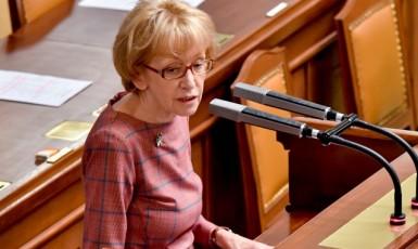 Poslankyně ANO a vládní zmocněnkyně pro lidská práva Helena Válková   (ČTK)