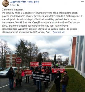 Ziggy Horváth, FB
