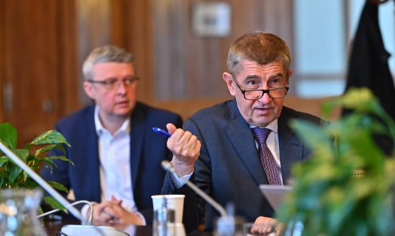 Premiér Andrej Babiš a vicepremiér Karel Havlíček (FB)