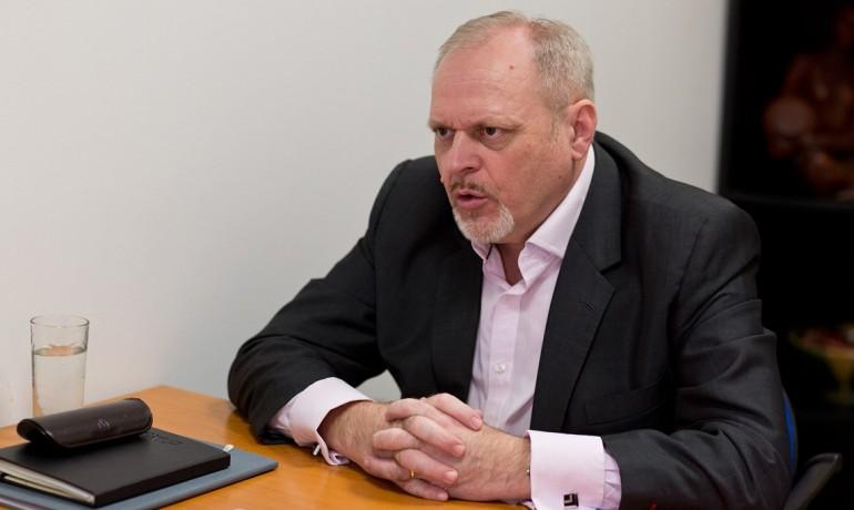 Přeseda výboru Podnikatelských odborů Radomil Bábek (FORUM 24)