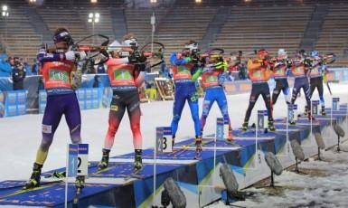 Závody Světového poháru v biatlonu v Novém Městě na Moravě (ČTK)