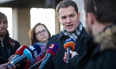 Slovenský expředseda vlády Igor Matovič (ČTK)