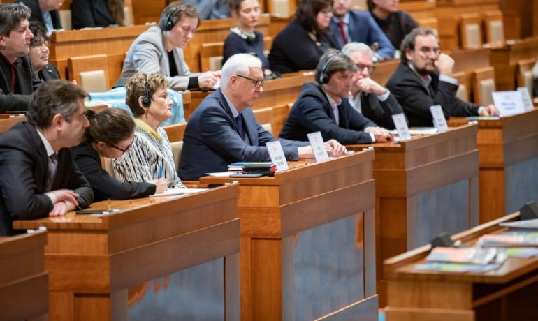 Jednání senátu. Ilustrační foto (ČTK)