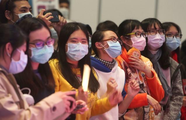 Obyvatelé Tchaj-wanu čelící koronavirové pandemii  (ČTK)