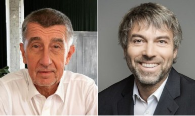 Andrej Babiš a Petr Kellner (profimedia.cz / ČTK)