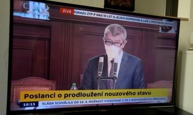 Premiér Andrej Babiš na schůzi poslanecké sněmovny (ČTK)