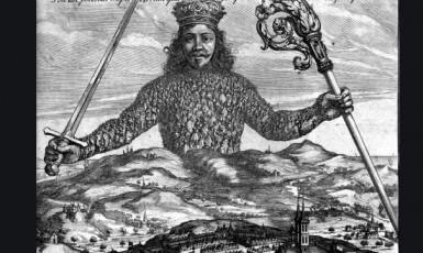 Leviatan je biblické monstrum. Právě k němu přirovnal Thomas Hobbes všemocný stát. (Wikipedie)