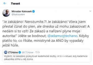printsreen twitter Miroslava Kalouska