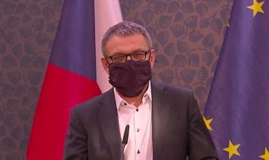 Ministr kultury Lubomír Zaorálek (ČT24)