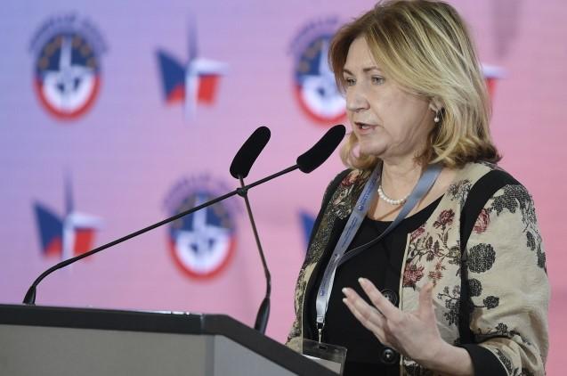 Předsedkyně Národní rozpočtové rady Eva Zamrazilová  (ČTK)
