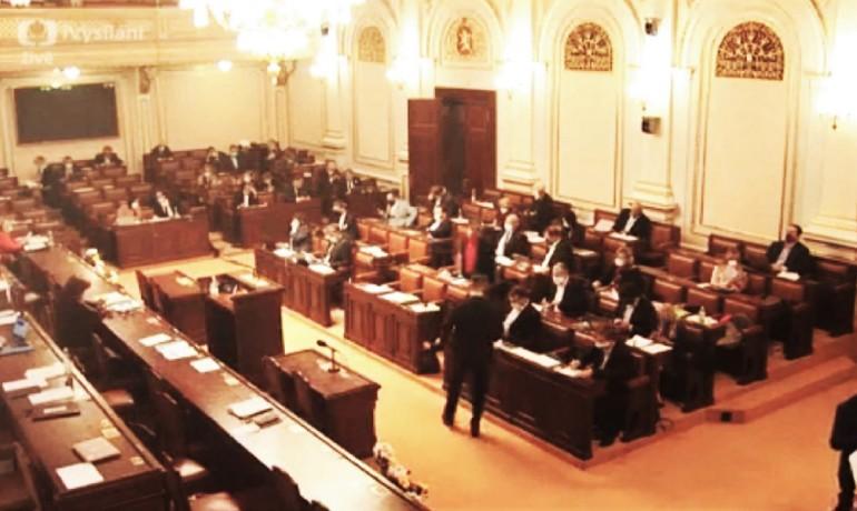 Poslanecká sněmovna – ilustrační foto (print screen ČT)