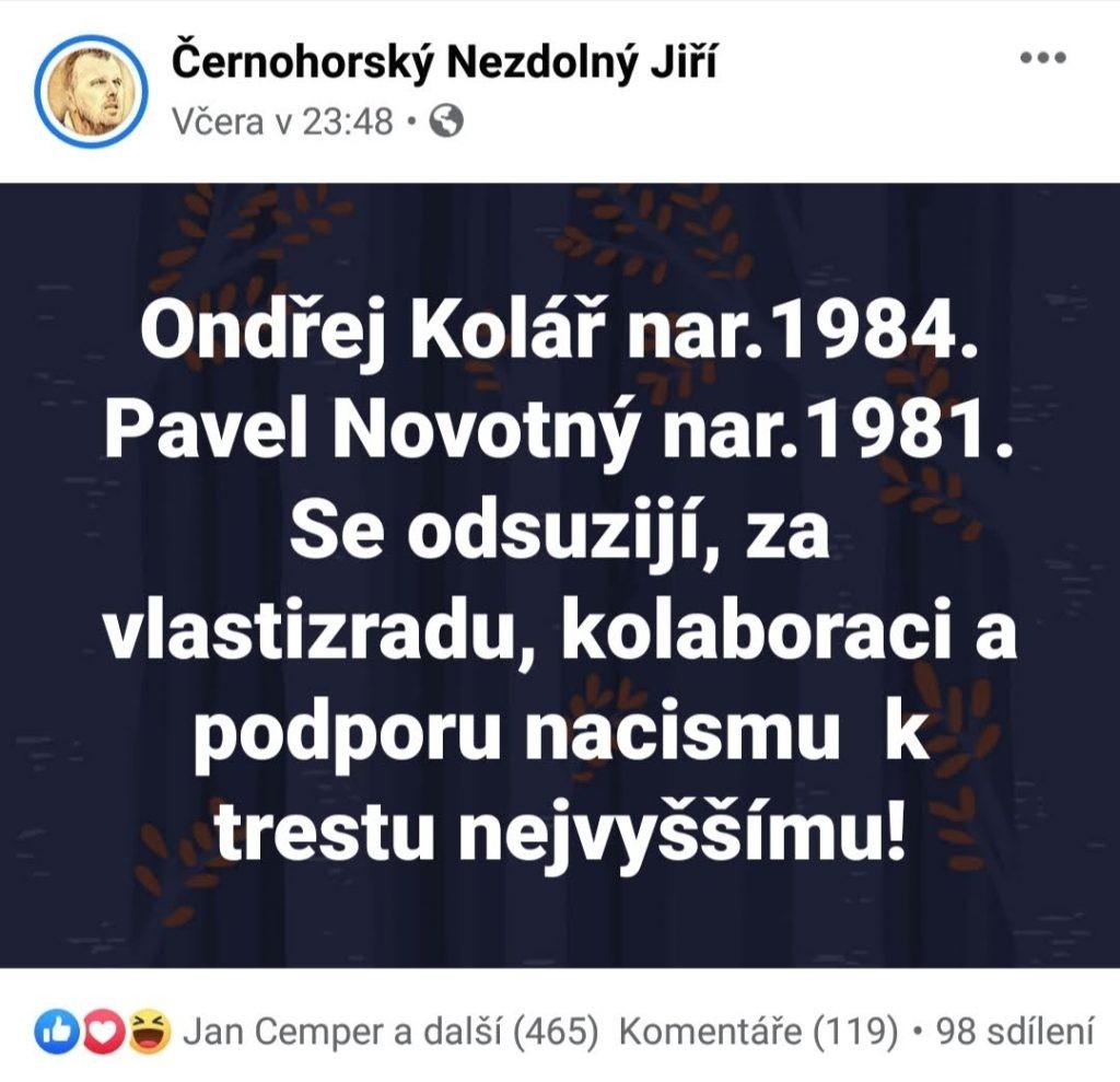 FB Černohorský