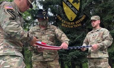 Printscreen facebook 1st Cavalry Reenacting Club