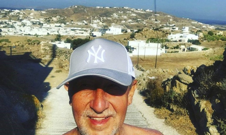 Premiér Andrej Babiš na dovolené v Řecku v roce 2018 (FB AB)